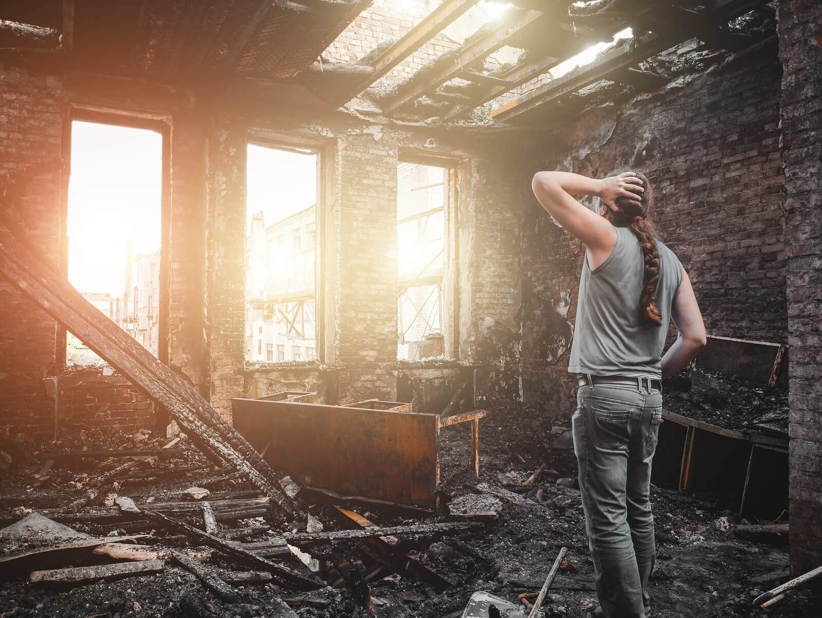 compensation for a fire accident in Las Vegas